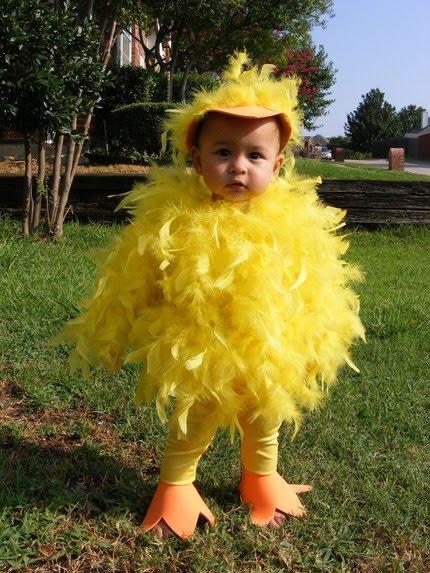 hallowwen Cómo hacer un disfraz de pollito o patito