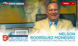 VIDEO: Nelson Rodríguez Monegro, director Servicio Nacional de Salud